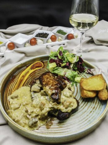 Mazno Black Angus con foie gras