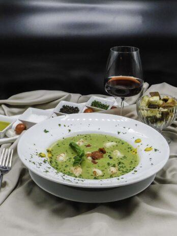 Zuppa di Zucchine e Gamberi