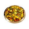 Calcan Bacau - Calcan cu roșii cherry, cartofi și măsline taggiasche, pregătit la cuptor, în vin Pecorino