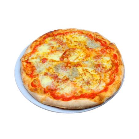 Pizza Quatro Formaggi e Ventricina - Gran Gourmet Ristorante Bacau