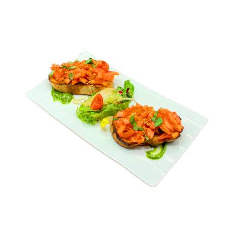 Bruschette Bacau - Bruschette Pomodoro