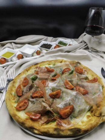 Pizza al Salmone